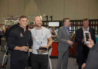 C & i Expo, Melbourne Convention and Exhibition Centre, 15 August 2018.